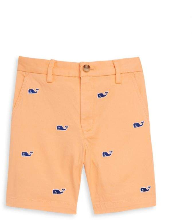 Vineyard Vines Toddler's, Little Boy's & Boy's Embroidered Stretch Breaker Shorts