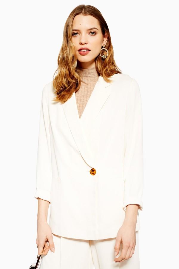 Womens Ivory Jacket - Ivory