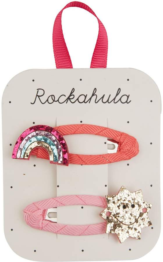 Rockahula Rainbow and Sun Hair Clips (Pack of 2)