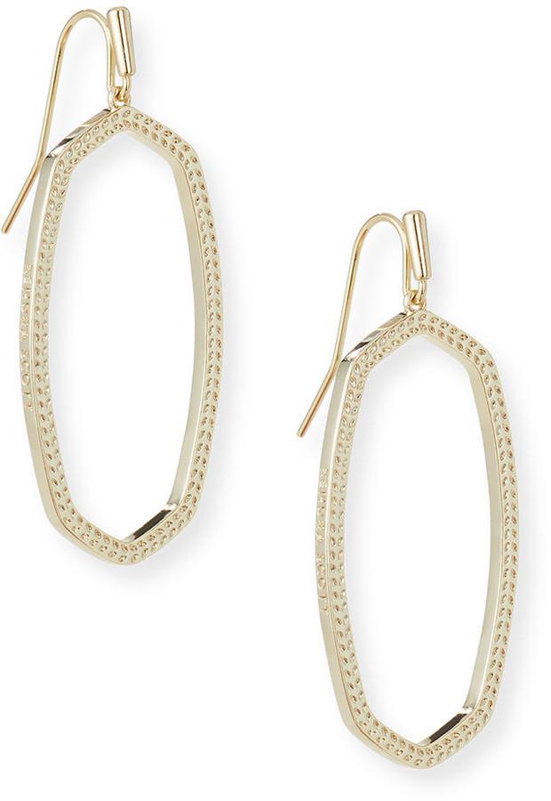 Kendra Scott Elle Open Frame Earrings