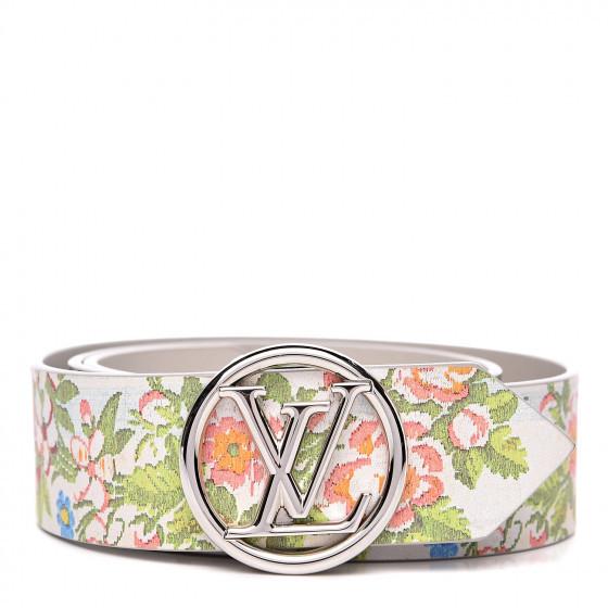 Calfskin 40mm Louis Vuitton Circle Belt from FASHIONPHILE
