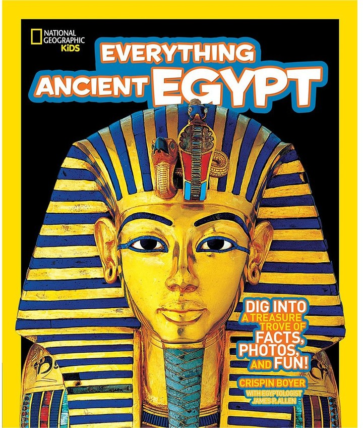 National Geographic Kids Everything Ancient Egypt - Ages 8-12