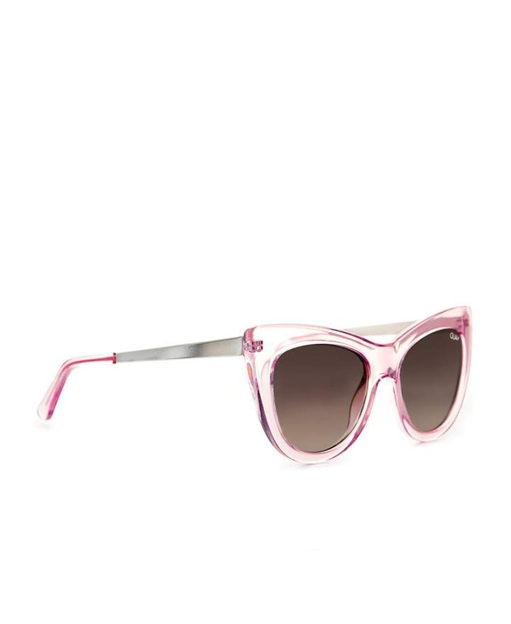 Quay Sunglasses Steal A Kiss Sunglasses Colour: PINK, Size: One Size