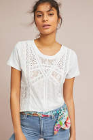 Eze Sur Mer Stacey Eyelet Tee