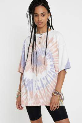 Urban Outfitters UO Oversized Tie-Dye T-Shirt