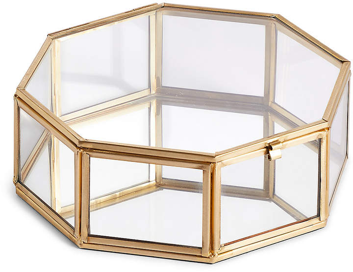 Marks and Spencer Large Hexagonal Trinket Box