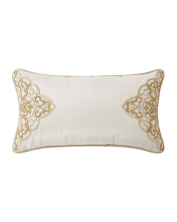 Waterford Shelah Embroidered Lumbar Pillow