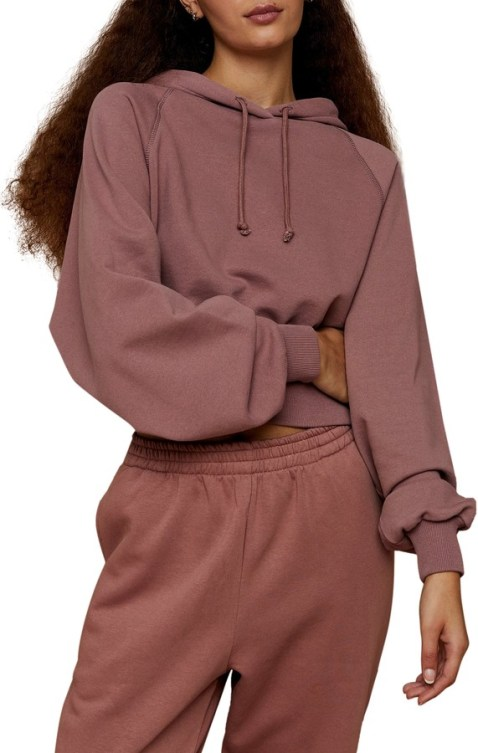 Topshop - dusty rose sweatshirt