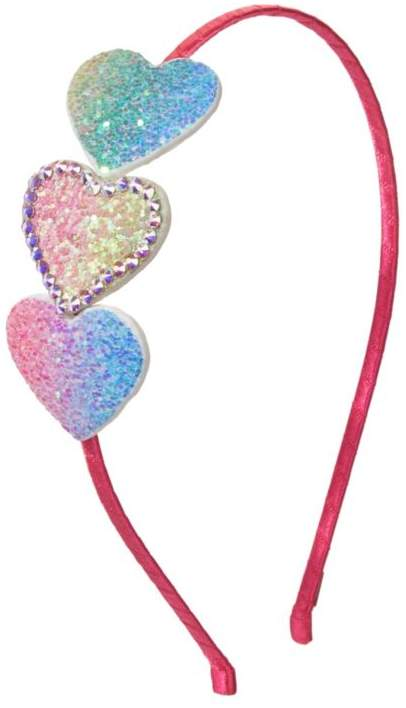 Bari Lynn Rainbow Glitter Headband