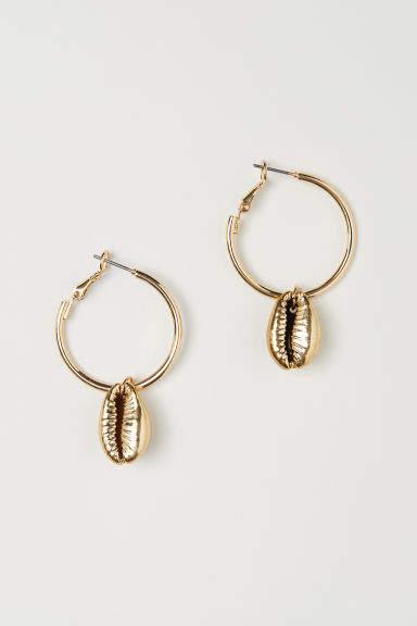 H&M - Earrings - Gold