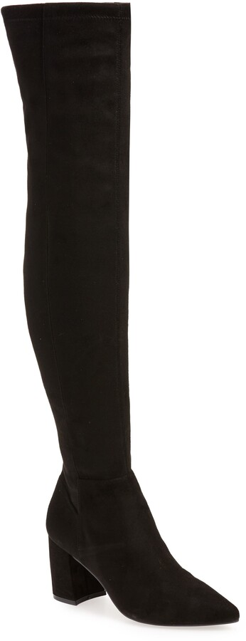 fashion boots - Nifty Pointed Toe Over the Knee Boot - click to shop