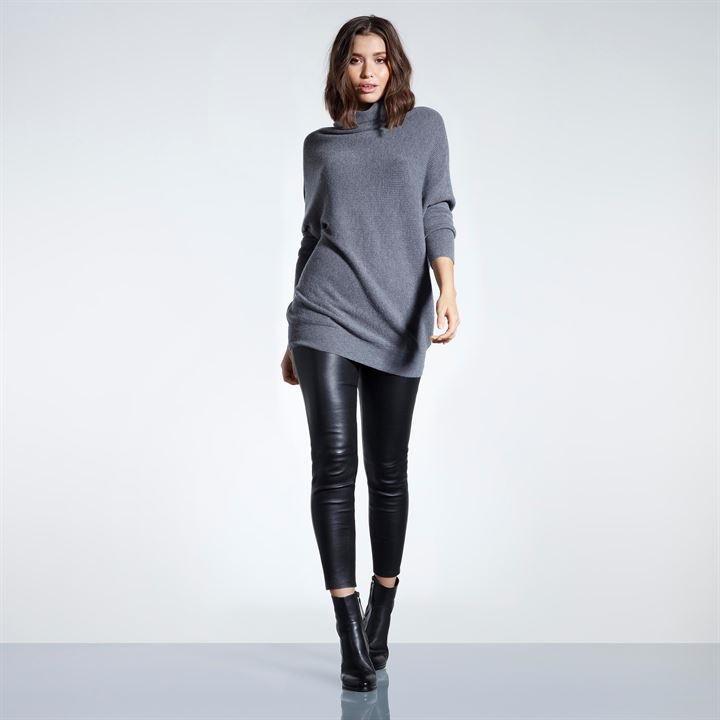 Firetrap Wool Knitted Longline Sweater Womens