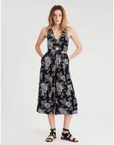 Aeo AE Twist Front Culotte Jumpsuit
