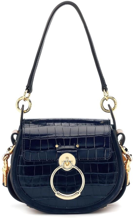 Tess Small leather shoulder bag