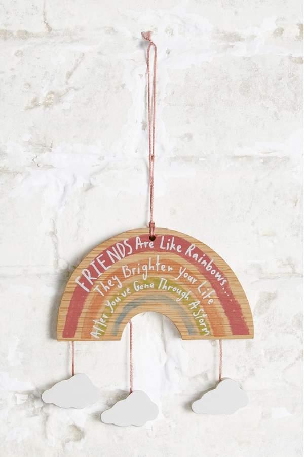 Next Friendship Rainbow Hanging Decoration - Pink