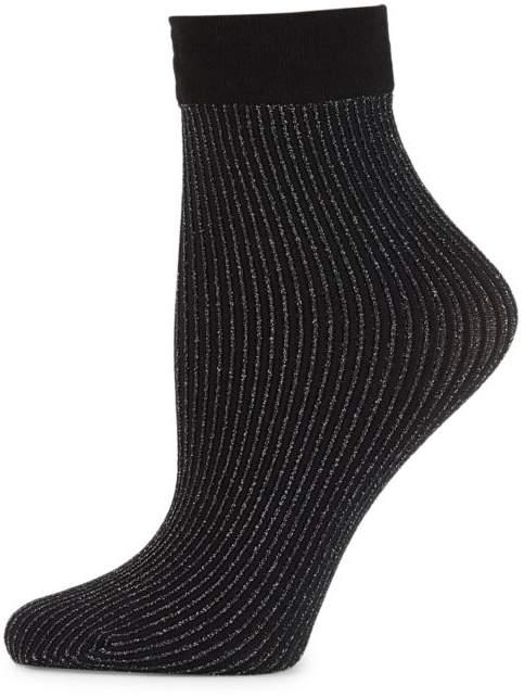 Wolford Dora Metallic Stripe Crew Socks