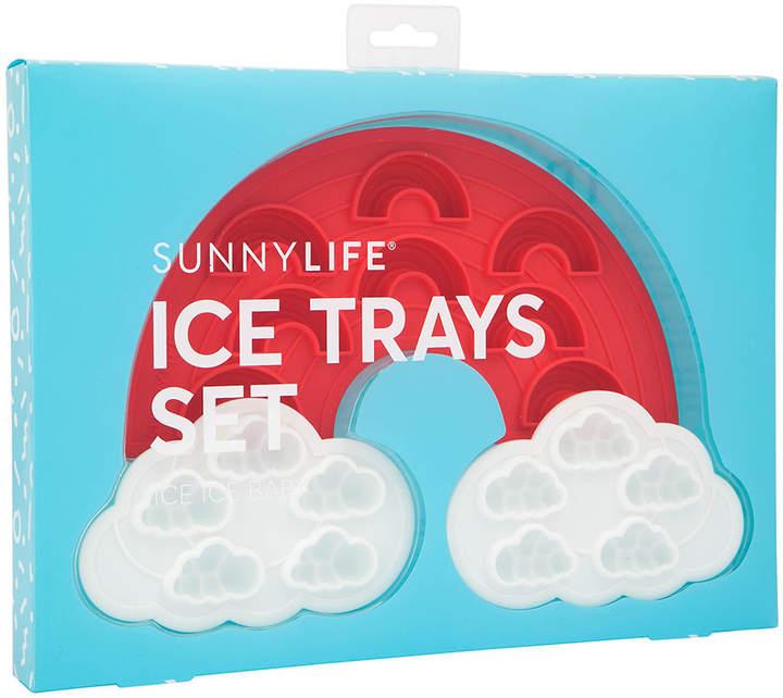 Sunnylife - Rainbow Ice Tray - Set of 2