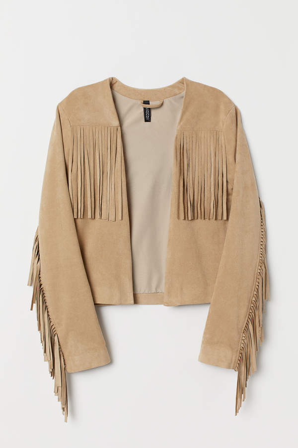 H&M Jacket with fringing