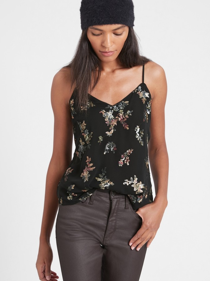 Banana Republic - Sequin Camisole
