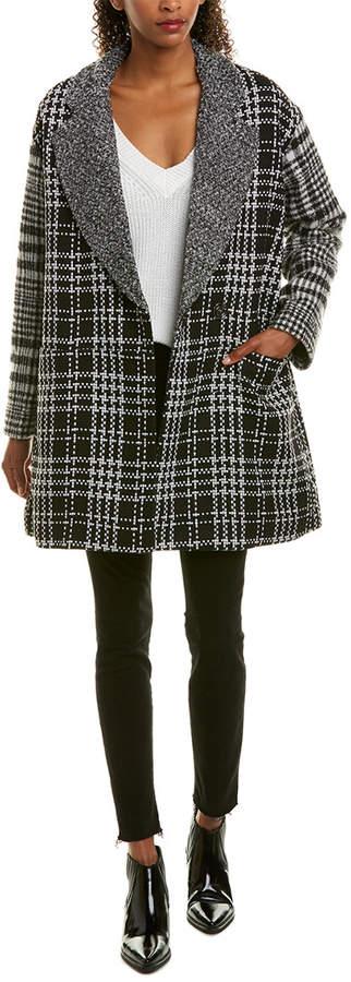 French Connection Belinda Wool-Blend Coat