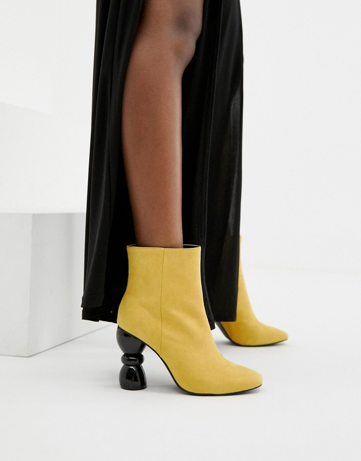 ASOS DESIGN Edina heeled ankle boots