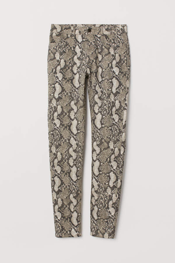 H&M - Super Slim-fit Pants - Beige