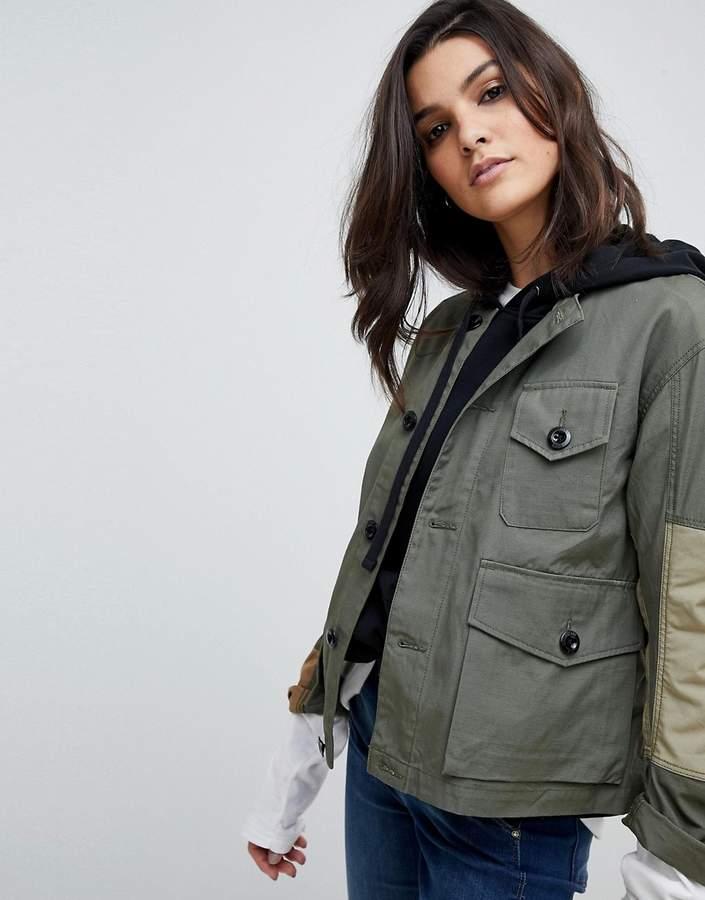 G-Star Camoflage Combat Jacket