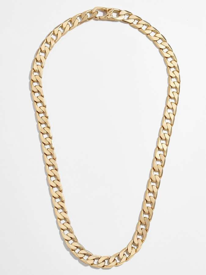 Small Michel Curb Chain Necklace