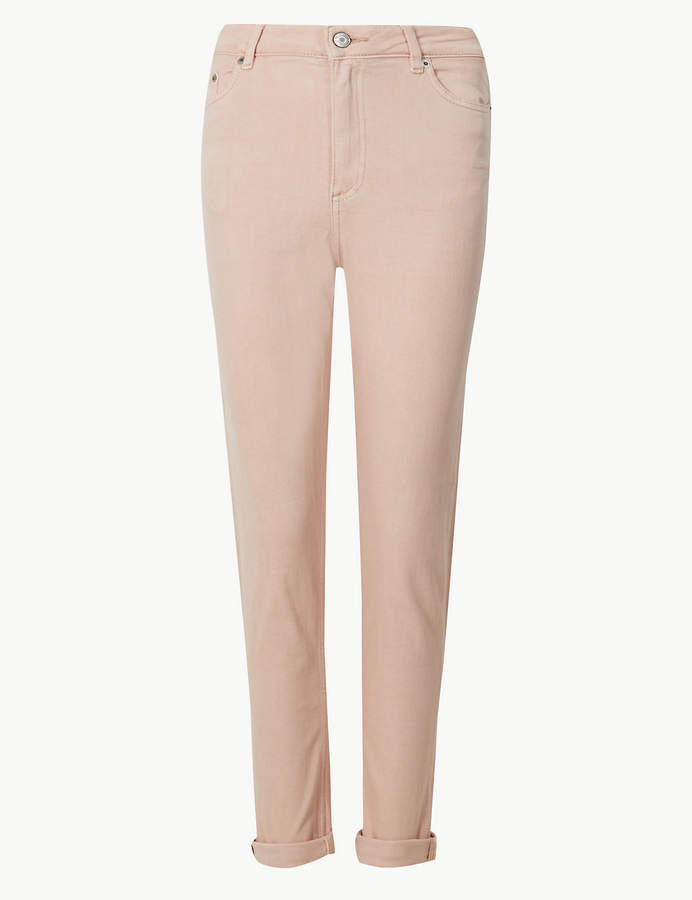 M&S CollectionMarks and Spencer Mid Rise Ankle Grazer Jeans
