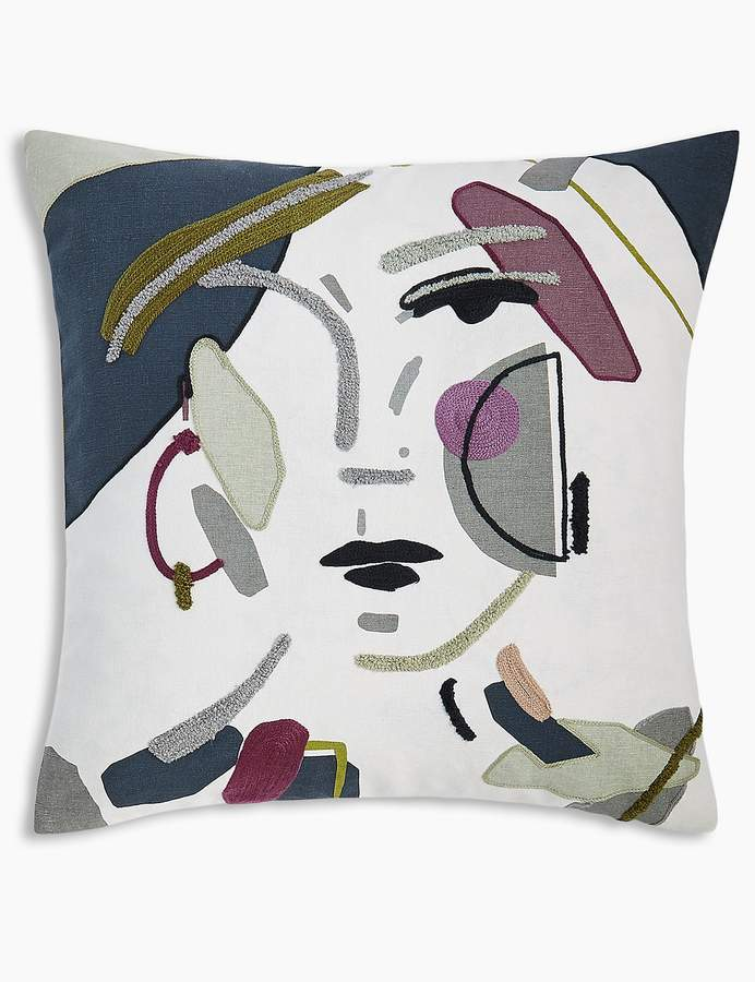 Marks and Spencer Nina Embroidered Cushion