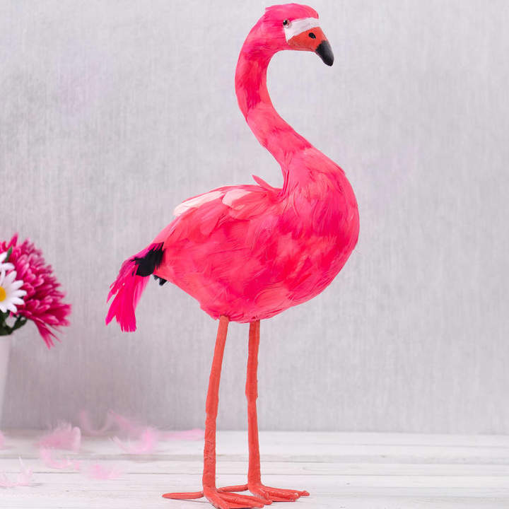 The Best Room Pink Feather Flamingo