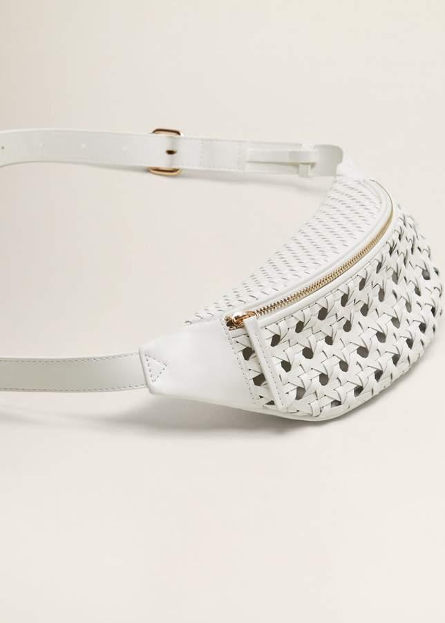 Laser-cut belt bag