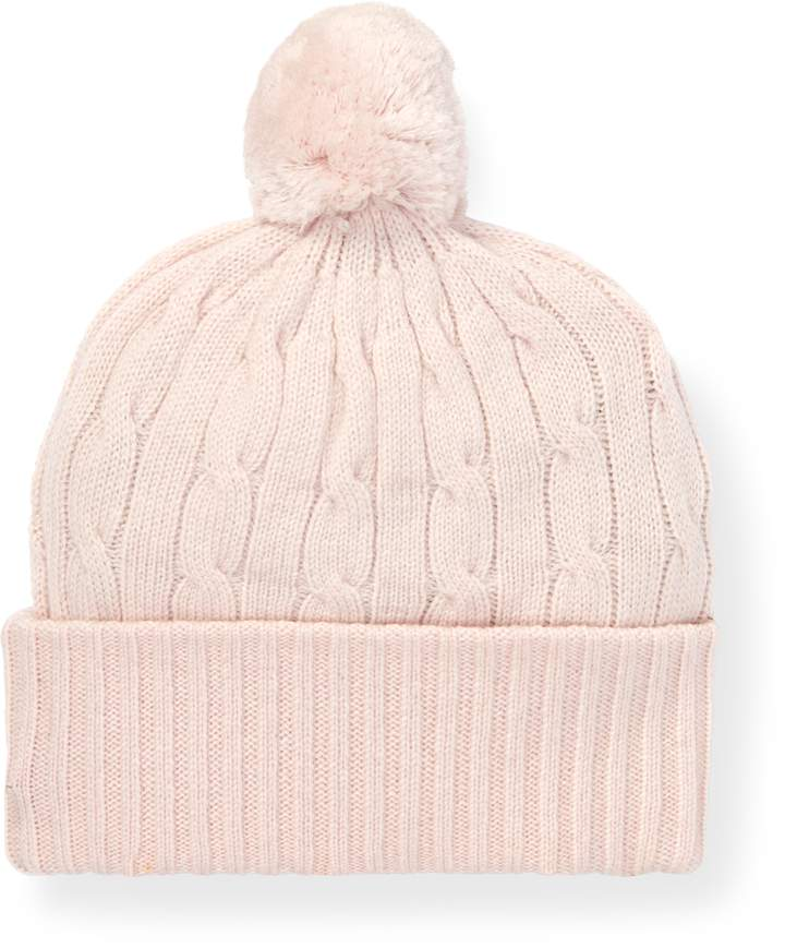 Ralph Lauren Pink Pony Cashmere Hat