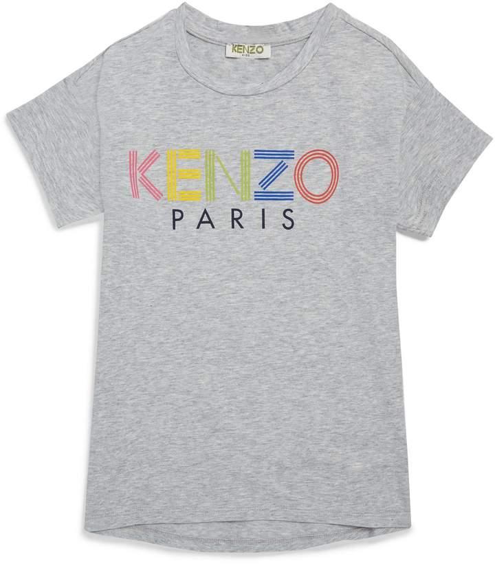 Kenzo Kids Rainbow Logo T-Shirt