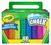 Crayola® Sidewalk Chalk Washable 48ct