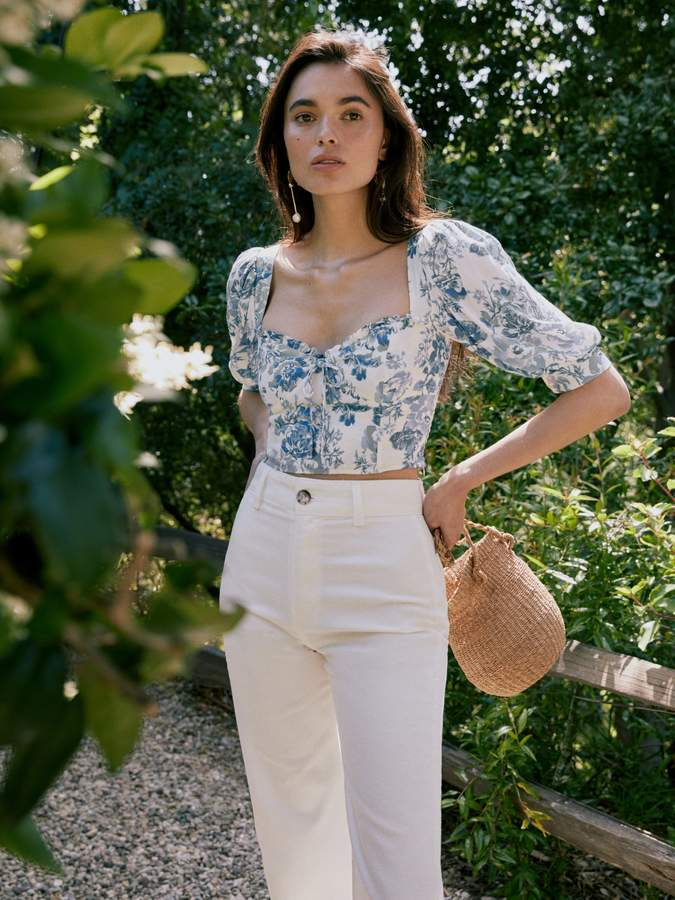 Reformation Luna Top