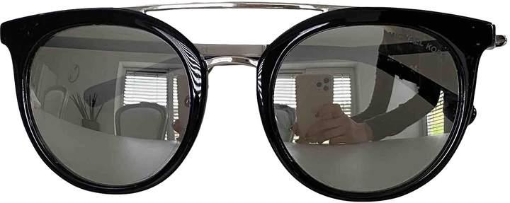 Michael Kors Black Plastic Sunglasses