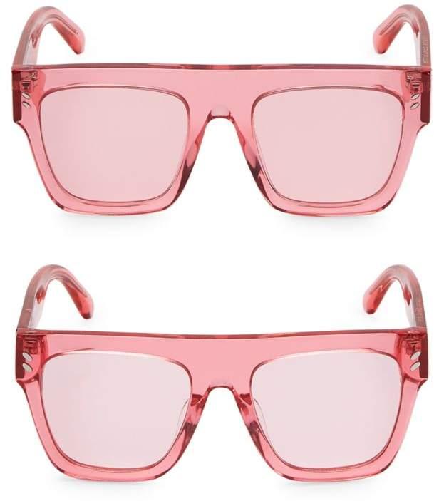 Mum & Me Clear Flat Top Sunglasses 2-Pair Set