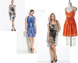 Calvin Klein, Lauren Conrad, T Tahari, White House