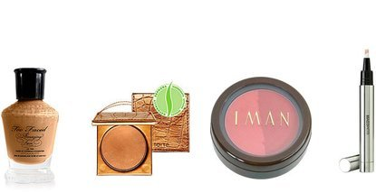 Iman, Tarte, Too Faced