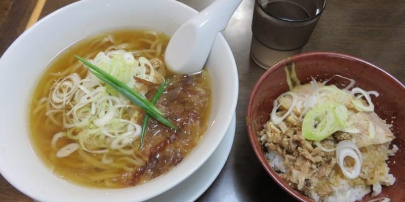 《日本》新大阪 手打ち麺 やす田 homemade noodles