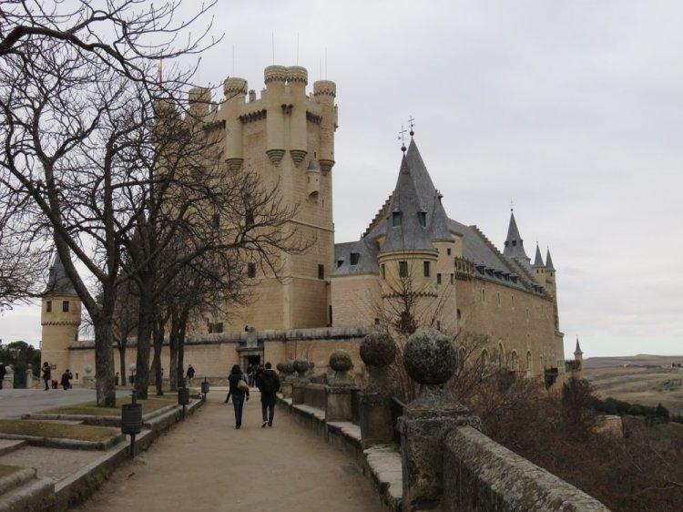 西班牙沒有白雪公主的塞哥維亞城堡 Alcázar de Segovia