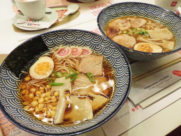 《UDON Glories》西班牙的日式拉麵究竟是啥米味
