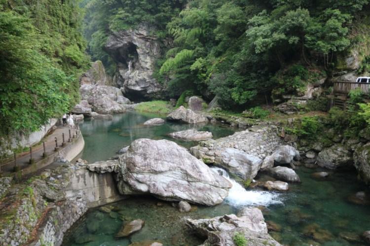 高知景點 日本第一仁淀川 中津溪谷的福氣秘境