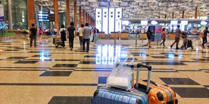 樟宜機場轉機 過境貴賓室休息洗澡 搭新航真好