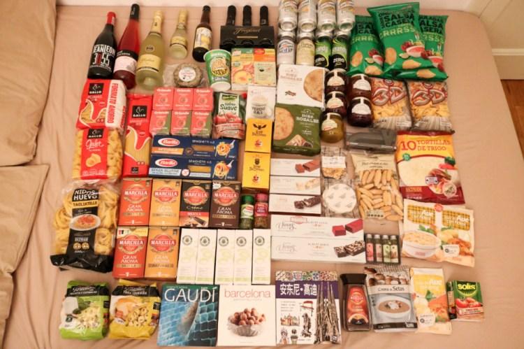 西班牙什麼好買伴手禮戰利品超市各種美味