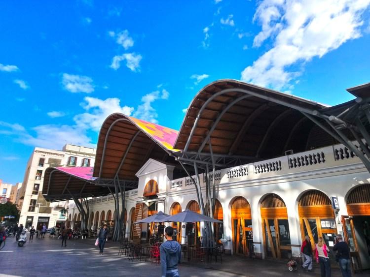 巴塞隆納聖卡特琳娜市場傳統市集就地取材附西班牙常見香菇特輯