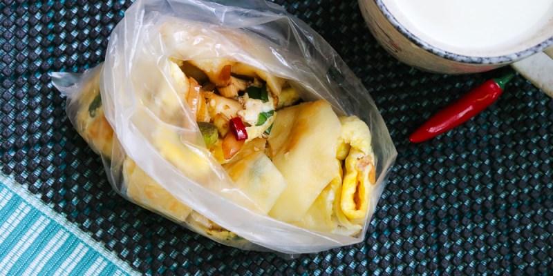 內湖好吃飯糰在這 737永和豆漿蛋餅配辣椒醬油與現煮豆漿
