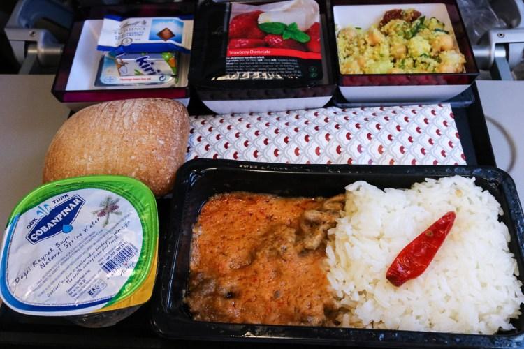 香港轉機 卡達航空 用餐不容易國泰誤餐餐券好難拿