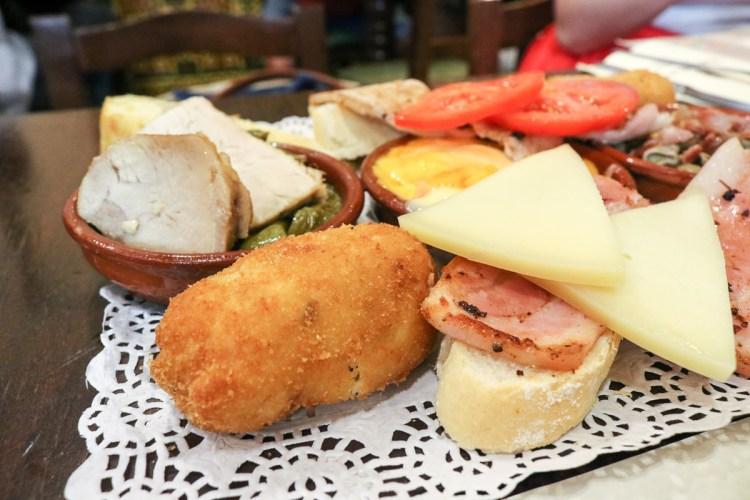 格拉納達推薦美食!Bodegas Castañeda在地一致好評這兒Tapas超好吃
